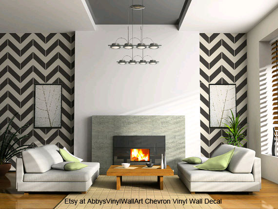 wall decal chevron