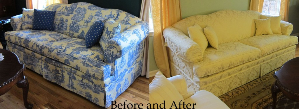 Upholstered Sofas Before And After Sofa The Honoroak
