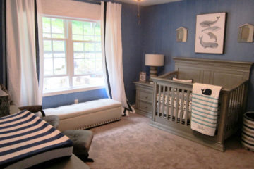 Artistry Interiors Heather McManus baby boys room